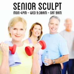 Senior Sculpt is an amazing workout for everyone (all ages) but it focuses on the strength balance and functional fitness that our seniors need most! Personal Training Studio, Senior Fitness, Maui, Pilates, Sculpting, Strength, Workout, Amazing, Exercises For Seniors