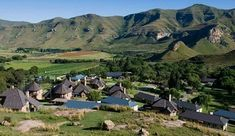 """Interesting places to visit in South Africa. Clarens is a small town situated in the foothills of the Maluti Mountains in the Free State province of South Africa and nicknamed the """"Jewel of the Eastern Free State"""". Provinces Of South Africa, Free State, Small Towns, Tourism, Dolores Park, Places To Visit, Beautiful Pictures, Vacation, Mountains"""