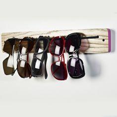 DIY Sunglasses Rack