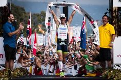 Van Lierde Earns First Title, Carfrae Breaks Course Record At 2013 GoPro Ironman World Championship