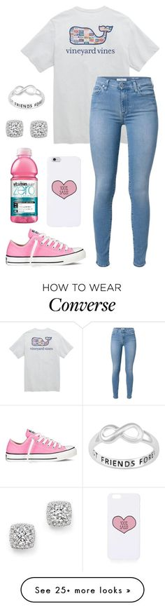 """""""You're driving me wild, wild, wild"""" by barobo on Polyvore featuring Vineyard Vines, 7 For All Mankind, Topshop, Converse, Bloomingdale's, women's clothing, women's fashion, women, female and woman"""