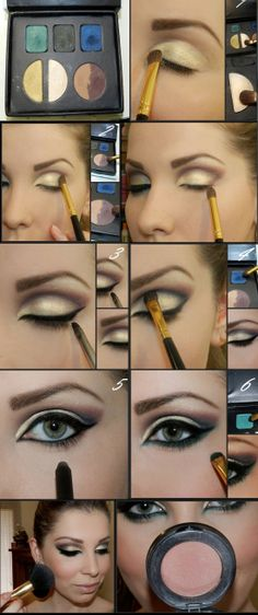 """Fotorial"": Paleta Pausa para Feminices Makeup Tutorials, Makeup Tips, Hair Makeup, Love Makeup, Makeup Looks, Beauty Make Up, Hair Beauty, Beauty Secrets, Beauty Hacks"