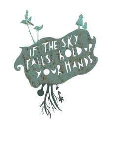 if the sky falls...