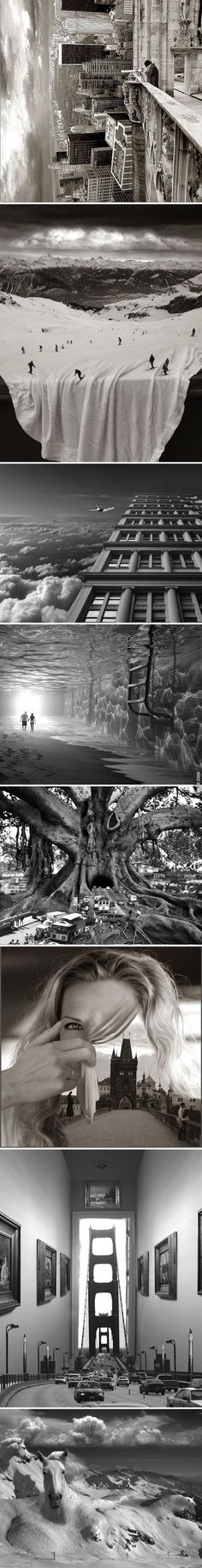 Photoshop'un Olmad��� Zamanlardan Foto�raf Manipulasyonlar� - Thomas Barb�y