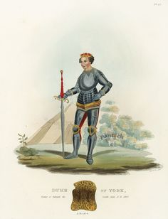 Ancient Armour Prints by Meyrick 1842