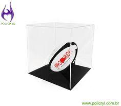Cúpula expositora feita em acrílico.  Display dome made in acrylic.