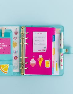 Decorate your Cute Time Planner with these gorgeous accessories including quote cards, stickers and more