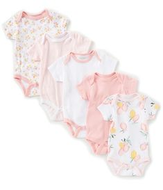 Chick Pea Baby Girls Months Lemon-Print/Floral/Solid Bodysuit h&mbaby Baby Girls, H&m Baby, Cute Baby Girl, Cute Babies, Baby Outfits Newborn, Baby Girl Newborn, Silicone Baby Dolls, Little Girl Fashion, Cute Baby Clothes