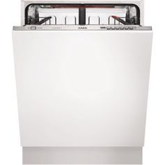 Buy AEG 13 Place Fully Integrated Dishwasher from Appliances Direct - the UK's leading online appliance specialist Fully Integrated Dishwasher, Built In Dishwasher, Sliding Hinges, Small Cupboard, Water Supply, Save Energy, New Kitchen, Cleaning