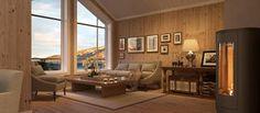 Midthø i Karakter-serien har hems og 8 sengeplasser Couch, Furniture, Home Decor, Settee, Decoration Home, Sofa, Room Decor, Home Furnishings, Sofas