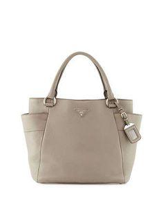 5451285bcc Prada Daino Side-Pocket Tote Bag