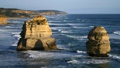 Geology IN: Australia's limestone columns: Introducing the five new 'Drowned Apostles' Costa, Ocean Rocks, Marie Curie, Australia, Fossils, Geology, Underwater, Mount Rushmore, Columns