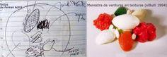 boceto de Ferran Adria