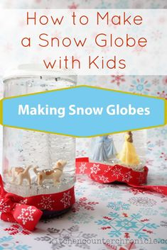 How to make a snow globe with mason jars, glycerin, pictures of your kids, as an ornament, with baby food jars and more! Check out top 15 tutorials for DIY Snow Globes Making Snow Globes, Diy Snow Globe, Baby Food Jars, How To Make Snow, Crafts For Girls, Craft Activities, Fall Crafts, Baby Food Recipes, Mason Jars