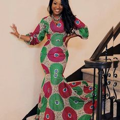 Ankara styles to wear an occasion traditional wedding ankara styles ankara gown style for pregnant las wedding lovely ankara gown styles latest ankara styles for. Long African Dresses, Dresses Short, African Print Dresses, African Fashion Dresses, Long Gowns, Ankara Fashion, African Prints, African Fabric, Long Ankara Dresses