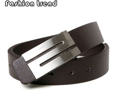 Aliexpress.com : Buy Free Shipping,Men's Belt ,Fashion Faux Leather Premium S Shape Metal Mens strap man Ceinture Buckle Belt men's belt,3 color,B463 from Reliable Men's Belt suppliers on Men's choice $3.59