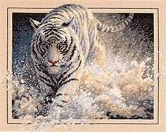 Gold Collection White Lightning Counted Cross Stitch Kit