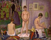 The Models - Georges Seurat