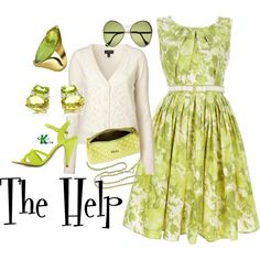 My creation inspired by the 2011 drama The Help.