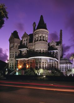 Bishop's Palace in Historic Galveston