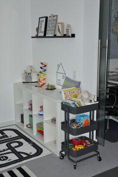 Statt Kinderzimmer: Spielecke im Wohnzimmer