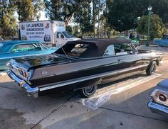 63 Chevy Impala, Brown Pride, Impalas, Low Low, Low Rider, Nice Cars, Dodgers, Hot Cars, Cars And Motorcycles