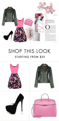 """ovisi"" by dobickinakatja on Polyvore featuring WithChic, Bully and Furla"