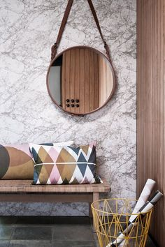 Ferm Living Marble-tapetti