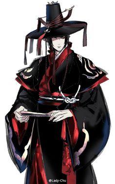 Hoozuki no Reitetsu Character Concept, Character Art, Character Design, Cute Anime Guys, Anime Love, Manga Anime, Anime Art, Natsume Yuujinchou, Korean Art
