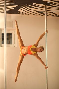 Would love to try pole dancing some day! Looks like a great workout!
