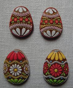 Egg Art Cookies