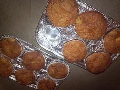 Carrot Pineapple Muffins replaced eggs with 1 banana...very moist!!!