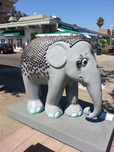 Elephant Parade Dana Point Summer 2013