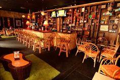 Aku Aku Tiki Bar, Orlando, Florida — beaches, booze, and bungalows Orlando Nightlife, Downtown Orlando, Orlando Florida, Kissimmee Florida, Florida Images, Lake Eola, Small Bars, Rattan Furniture, Florida Beaches