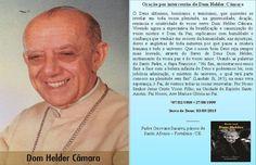 F.G. Saraiva: Oração por intercessão de Dom Helder Câmara