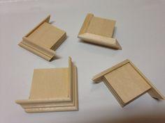 Mini Hardwood Box Corner Feet Craft Woodworking Supplies Jewelry Box Clock Poplar Set of 4 Woodworking Equipment, Woodworking Basics, Woodworking For Kids, Cool Woodworking Projects, Woodworking Books, Router Woodworking, Woodworking Supplies, Diy Wood Projects, Wood Crafts