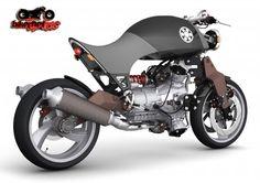 "specialcar: ""moto guzzi six cylinder radial bike concept """