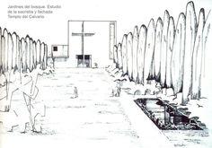 Este Templo fue construido en Guadalajara con cambios substanciales que no fueron autorizados por Barragán; por lo que él rechazó tomar el crédito y publicó el diseño original en el libro de Ambasz.