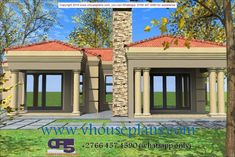 Overall Dimensions- x 2 Car Garage Area- 222 Square meters Round House Plans, My House Plans, Family House Plans, Flat Roof House, Facade House, Bungalow House Design, Modern House Design, Single Storey House Plans, House Plans Mansion