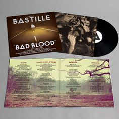 Bastille - Bad Blood Vinyl, only just getting into Bastille now but then again I've always been behind everyone else. Storming The Bastille, Bad Blood, Everyone Else, Lps, Vinyl Records, Album, Digital, Cover, Official Store