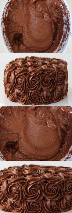 Sweet Recipes, Cake Recipes, Dessert Recipes, Desserts, Cake Cookies, Cupcake Cakes, Birth Cakes, Cream And Fudge, Deli Food