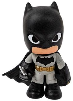 Funko Mystery Minis  Batman with Bat Blade  Batman vs Superman Dawn of Justice Vinyl DC Comics Collectible * More info could be found at the image url.