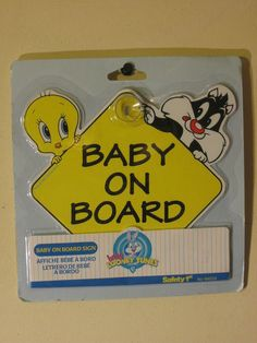 Baby Looney Toons Baby on Board - Baby Tweety & Baby Sylvester