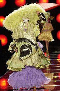 John Galliano for The House of Dior, Spring/Summer, 2003, Haute Couture.