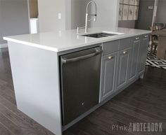 IKEA Hack {how we built our kitchen island}  Jeanne Oliver  Ikea Hacks  Pinterest