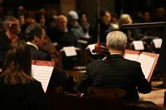 L'Orchestra esegue i suoi concerti presso la Basilica di Santa Maria delle Grazie a Milano