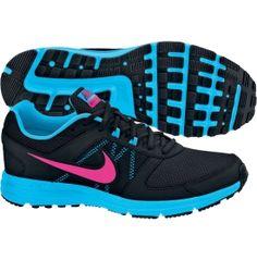 a4a1b7c7da7be Nike Women s Air Relentless 3 Running Shoe - Black Blue Pink