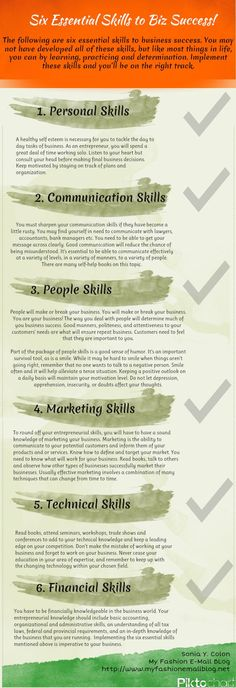 Want To Be An Entrepreneur? Then You Need To Master These 6 Skills!