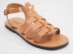 Griechische Leder Sandalen Handarbeit aus Kreta Griechenland ( UNISEX) 42-46