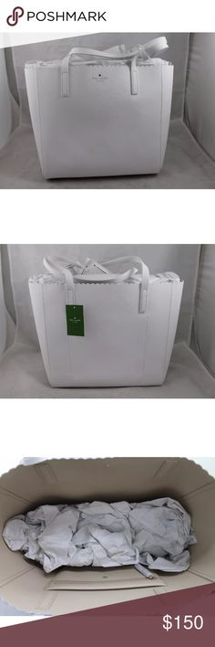 🎉SALE🎉 NWT Kate Spade White Hallie Purse New with tags kate spade Bags Shoulder Bags